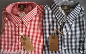 Timberland Men's Long Sleeve SLIM FIT Rattle River Gingham Shirt
