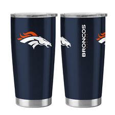 Denver Broncos Travel Tumbler - 20oz Ultra [NEW] NFL Cup Mug Coffee