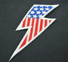 COSPLAY SUPERHERO FLASH 8' LGE SEW IRON ON  PATCH BADGE EMBROIDERY APPLIQUE TRIM