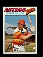 1977 TOPPS #614 GREG GROSS EX+ ASTROS  *X3396