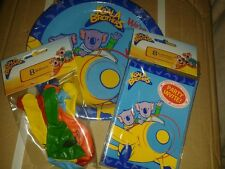 Party pack  Koala brothers - 16 party invitations - 16 balloons - 16party plates