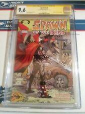 Spawn 223 CGC SS 9.6 Todd McFarlane Walking Dead 1 Cover