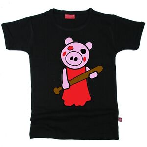 Stardust Ethical Kids Childrens THINKNOODLES PIGGY Roblox T-SHIRT