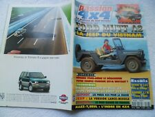 PASSION 4X4 N°23 12/1996 FORD MUTT A2 OPEL MONTEREY 3.1 LAND CRUISER V6 MAVERICK
