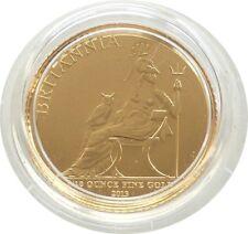 2013 Royal Mint British Britannia with Owl £10 Ten Pound Gold 1/10oz Coin
