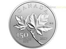 10 $ Dollar Forever Maple Leaf Leaves Kanada 1/2 oz Silber 2017