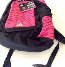 adidas Elevate Print Backpack Pink and Black