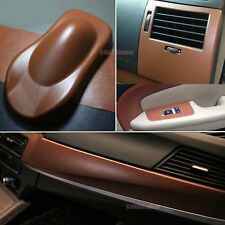 "*60/""x108/"" Black Leather Grain Furniture Cabinet Vinyl Car Wrap Sticker Decal DIY"