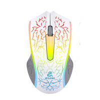 2000DPI 2 Buttons Optical LED Wired Gaming Mouse Mice For PC Computer Laptop