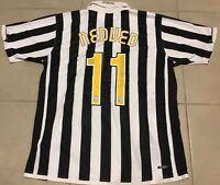 Men's Juventus 2006/2007 NEDVED #11 Sz XL Nike football shirt jersey soccer