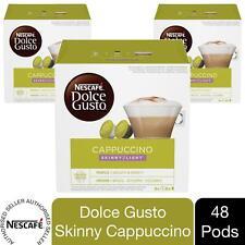 Nescafe Dolce Gusto Coffee Pods 3x Boxes / 48 Caps Skinny Cappuccino