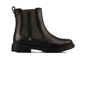 Clarks  Astrol Orin K Boots Black Leather 10.5UK F/EU28.5