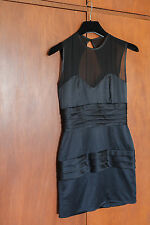Nicola Finetti Black Circular Disc Dress