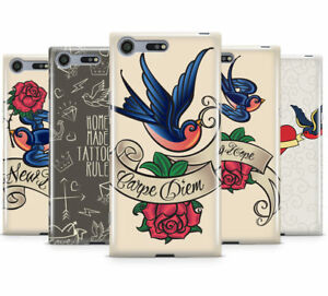TATTOO PRINT COLLECTION HARD MOBILE PHONE CASE COVER FOR SONY XPERIA XZ PREMIUM