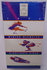 1994 Winter Olympics Highlights Video (VHS 1994) Brand NEW Factory Sealed! RARE!
