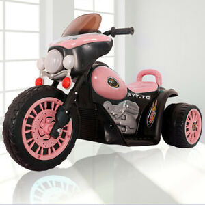 Children Electric Motorbike Harley Style Kids Ride-on Car 3 Wheel Bike Tricycle