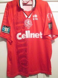 Middlesbrough 1996-1997 Fa Cup Final Juninho 10 Home Football Shirt Medium