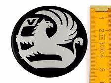 VAUXHALL ★ 4 Stück ★ SILIKON Ø55mm Aufkleber Emblem Felgenaufkleber Radkappen