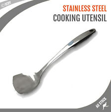 Stainless Steel Cooking Utensil Wok Turner Kitchen Cooking Spoon