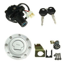 Ignition Switch Lock Fuel Gas Cap Key Set For Yamaha YZF R1 R6 2001-2012