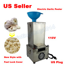 ​New 110V Electric Garlic Peeler Household and Commercial Garlic Peeling Machine