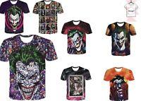The Joker DC Comics Batman Suicide Squad New T-Shirt 3D Print Unisex S-7XL