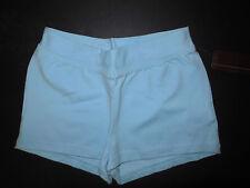 NWT Bloch Dance Lt Blue V Front Booty Shorts Girls Child Sm CR3644 Cotton Lycra