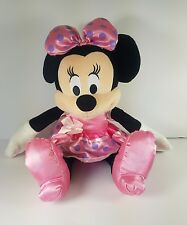 Pre Owned Disney Minnie Mouse Plush - Disney Stuffed Toy Animal (P)