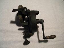 Vintage/Antique Manual Grind Wheel Blade Sharpener Whetstone Crank Handle