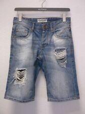SMOG HERITAGE Jeans Bermuda Hose blau Gr.XS (Z37)
