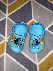 Toddler Crocs Infant 4-5 💙 Finding Nemo 💙