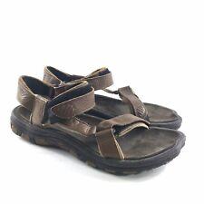 Teva Mens Bedrock Outdoor Sport Sandals Brown Leather 13 Hiking