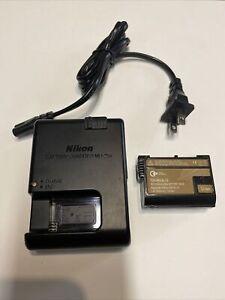Nikon MH25A Battery Charger + GX-EN-ELI5 Battery