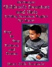 Children's Sweaters & Hats Knitting Seamless Raglan Top Down: Step by Step Patte