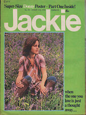 Jackie Magazine 11 August 1973 No.501   Donny Osmond   Gary Glitter  Linda Lewis