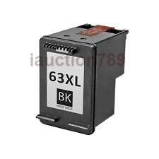 2x Generic Ink Cartridges 63XL Black Only for HP Envy 4520 Deskjet 2130 3630