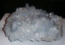Top Quality Celestite Crystal Mineral Specimen White Rock Quarry OH Celestine A+