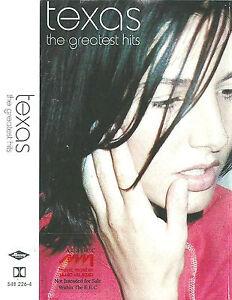 Texas The Greatest Hits CASSETTE ALBUM  alternative rock 2000 EU Saudi Arabia?