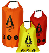 Advanced Elements AE3506 Packlite Roll Top Drybag Set for Paddlers 3/5/10 liters