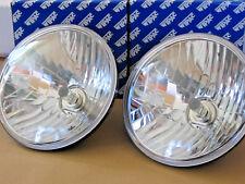 Land Rover Wipac S6071 Crystal clear lens headlamps 'E' mkd inc halogen bulbs