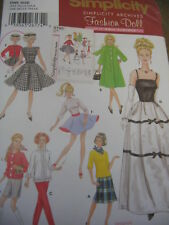 Simplicity 5785 NEW sew pattern 11 1/2 FASHION DOLL CLOTHES Archive Skirt Formal