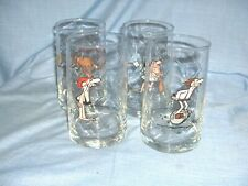 #427 - Set Of 4 B.C. Comic Strip Glasses, Tumblers - Bc, Thor, Wiley, Anteater
