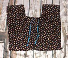 Vera Bradley Pajama Lounge Pants Kensington Cotton Corduroy Paisley Medium