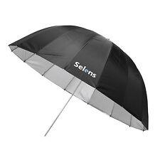 Selens 105cm 41'' 16 Rod Hexagon Parabolic Reflective Umbrella Black / Silver