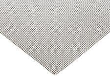 "400 Nickel Woven Mesh Sheet Unpolished (Mill) Finish - 12"" x 12"" - 46% Open Area"