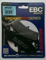 Aprilia Scarabeo 300 (2009 To 2012) EBC Organic Pastillas de Freno Disco