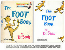 First Edition of Dr. Seuss's ''The Foot Book'' w/ 1st DJ