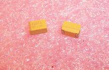 Qty (50) 220uf 10V 10% E Case Smd Tantalum Capacitors Taje227K010R Avx