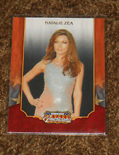 Donruss Americana 2009 Trading Card Natalie Zea/CSI,The Shield