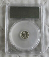 2001 MAUNDY SILVER PROOF TWO PENCE SLABBED CGS 98